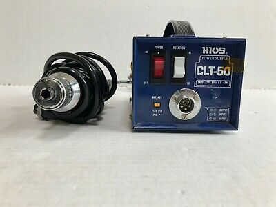 Hios Mountz Cl-4000 Torque Limiting Power Screw Driver And Clt-50 Power Supply