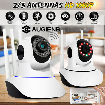 1080P HD Smart Home Wireless Security IP Camera Wi-Fi IR Night CCTV Baby Monitor