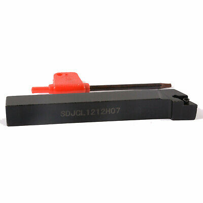 SDJCL1212H07+DCMT070204 UE6020 12x100mm Lathe External Turning Tool Holder Stock