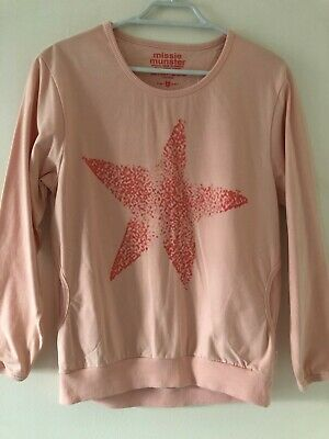 Stunning Missie Munster girls long sleeved long style sweater Size 12