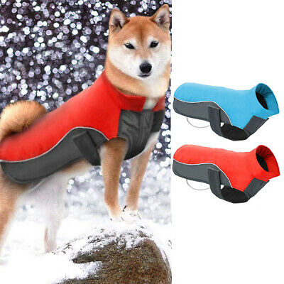 New Dog Puppy Pet Warm Padded Coat Thick Winter Puffer Jacket Clothes Waterproof