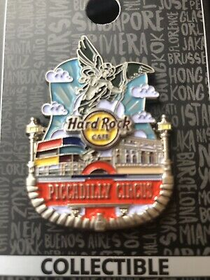 Hard Rock Cafe London Piccadilly Circus Icon Pin Badge Newly Opened!