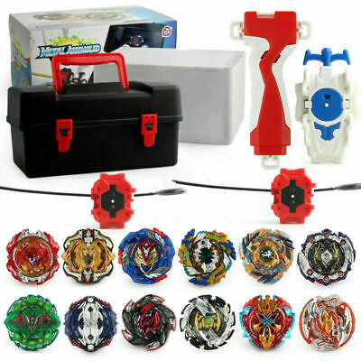 Burst Beyblade Starter Spinning Top Gyro Fight Bayblade -With Launcher in box AU