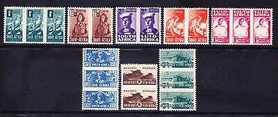 SOUTH AFRICA 1942/4 SG97/104 set of 8 - very lightly mounted mint. Cat £50