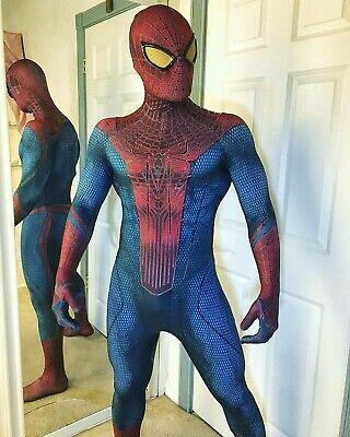 The Amazing Spiderman 1 Tights Halloween cosplay Costumes zentai Suit 3D print