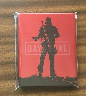 DAYS GONE RED STEELBOOK from SPECIAL EDITION NEW PS4 PC XBOX G2 SIZE METAL CASE