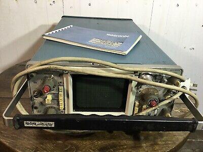 Tektronix 466 Analog Storage Osciloscope With Original Manual, Salplex.