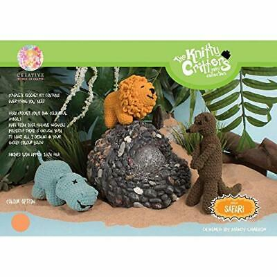 Creative World of Crafts Knitty Critters – African Safari – Clear Sky (PWG)