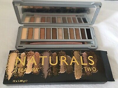 ecebcc4d5e4 NEW LACURA EYESHADOW Palette NATURALS INTENSE 12 shades Urban Decay ...