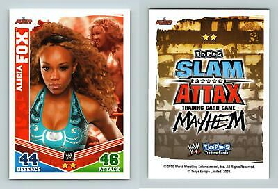 Alicia Fox - WWE Slam Attax Mayhem 2010 Topps TCG Card