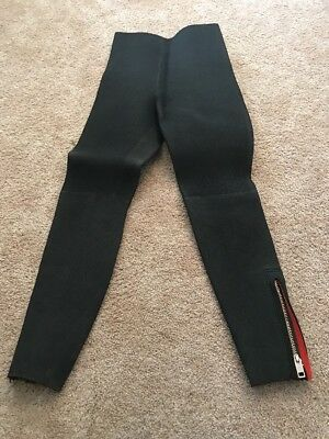 Parkway Vintage Black Man Wetsuit Pants SEE MEASUREMENTS