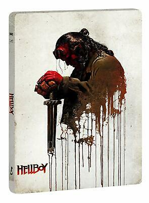 Hellboy 4K UHD (2019) Steelbook +Blu Ray /Import/Pre-Order/WORLDWIDE SHIPPING