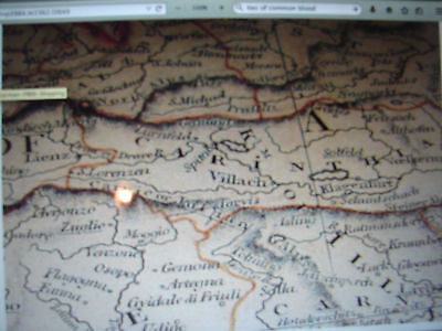 # 1828 Map Southern Germany  Reproduction