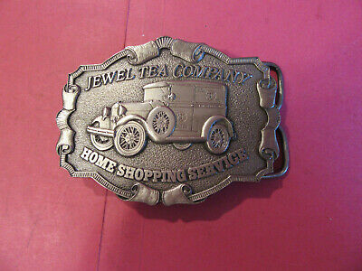 Jewel Tea Company new belt buckle Home shopping grocery store 1977 Chicago