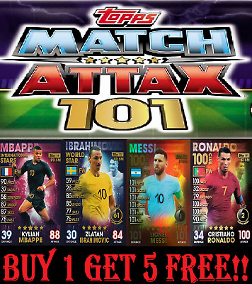 Topps Match Attax 101 ☆ Summer ☆ International ☆ World Star ☆ Women's Cards 2019