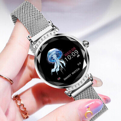 Women Smart Watch Bluetooth Waterproof Heart Rate For Android IOS Samsung iPhone