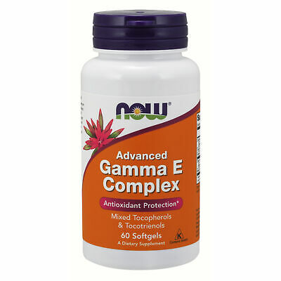 Advanced Vitamin E Formula - with Gamma-Tocopherol & Tocotrienols - 60 Softgels