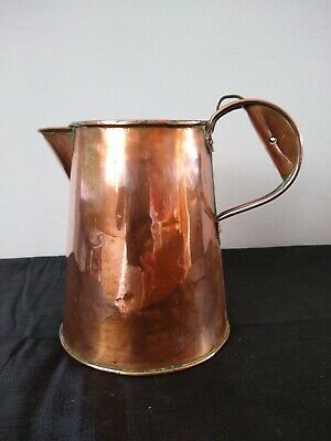 Lovely Arts And Crafts Bullpitt & Sons Large Copper Jug 1910.