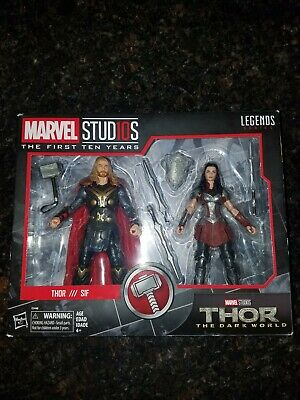 Marvel studios Thor the dark world thor and lady sif 2 pack new