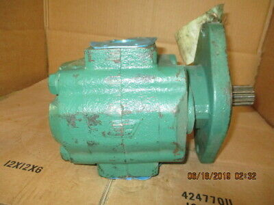 Parker Hydraulic Pump Model# 3139112354 #618234J Rebuilt