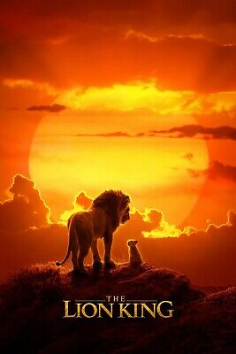 The Lion King Movie Poster  (Multiple Sizes)