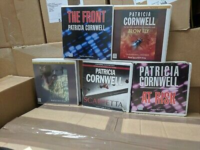 Collection of 5 Patricia Cornwell CD Audiobooks