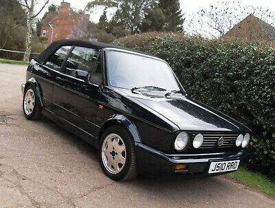 "1991 VW Golf Mk1 GTI Rivage ""Leather"" Cabriolet - Classic Green Convertible"