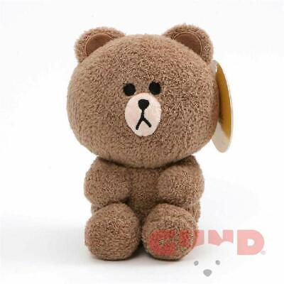 GUND Brown Seated Plush, 7""