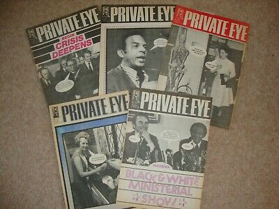 1978 PRIVATE EYE x 5 Issue Numbers 412, 422, 423, 424, 425