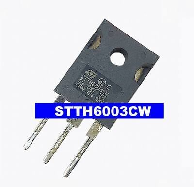 3pcs DIP Diode STTH6003CW TO-247 ST  #