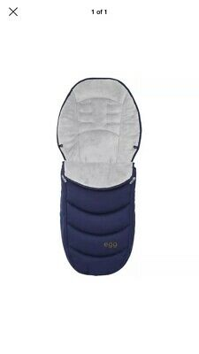 Egg Stroller Footmuff Serpent Blue Black - Brand new sealed