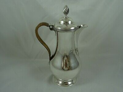 QUALITY GEORGE III solid silver WINE JUG, 1778, 732gm