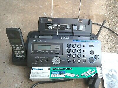 Panasonic Fax machine KX FP320 with answering machine with 1 spare thermal roll