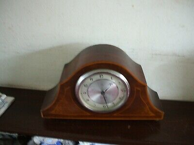 Vintage Hac Made In Germany 8 Day Small Mantle Clock Very Good Condition