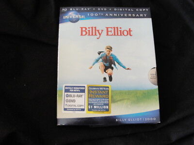Billy Elliot (Blu-ray + DVD + Digital Copy), New DVD, Jean Heywood, Jamie Draven