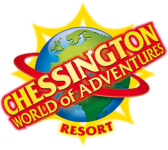 4 x Chessington World of Adventures Tickets - Saturday 6th July - Adult/Child