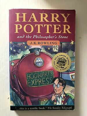 Harry Potter Philosophers Stone Early Bloomsbury