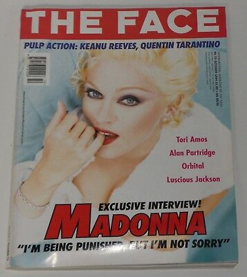 Madonna The Face Magazine 1994 October Madonna Interview