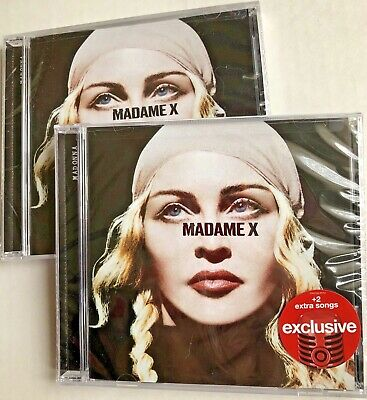 Madonna Madame X CD Limited Edition Deluxe Target Exclusive 2 EXTRA SONGS NEW