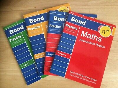 Bond 11+ books Bundle 8 - 9 years (KS2) (11 Plus)