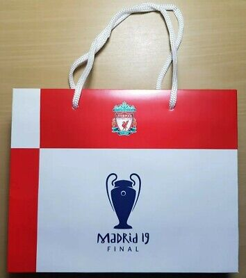 2 x 2019 Champions League Final Liverpool GIFT BAGS