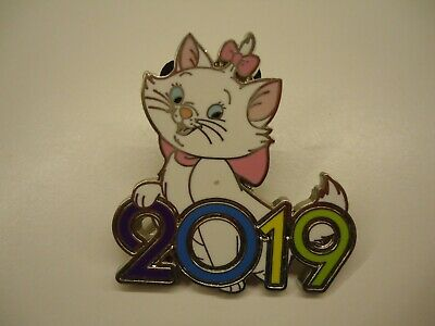 Disney Parks Dated 2019 Mystery Box - Marie White Cat  Aristocats Pin  **Mint**