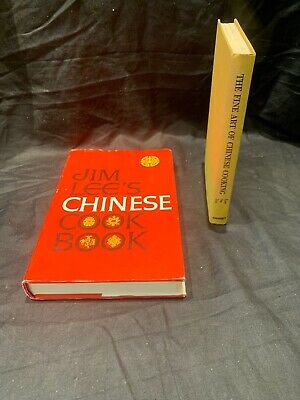 Lot Of 2 Chinese Cook Books The Fine Art Of Chinese Cooking And Jim Lees Cook
