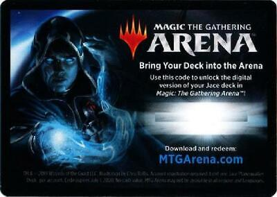 Magic: The Gathering Arena Jace Deck Unused Code Card NM MTG War of the