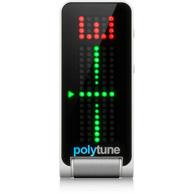TC Electronic Polytune Clip Polyphonic Clip-on Guitar Tuner!