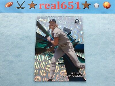 2015 High Tek Clouds Diffractor RANDY JOHNSON /25 | Topps SSP Acetate | Mariners