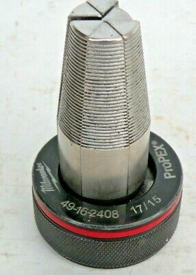 "MILWAUKEE 49-16-2408 M12/18 OEM PROPEX Expansion Head 1"" PreOwned Fully Tested"