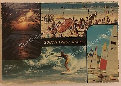 Vintage Postcard South West Rocks NSW Australia Souvenir
