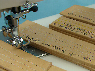 Heavy Duty Industrial Strength Sewing Machine Sews 5/16 Inch Leather Upholstery