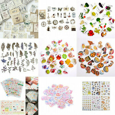 DIY Cute Paper PVC Sticker Diary Stickers Album Scrapbooking Notebook Decor